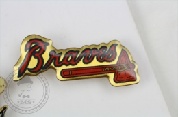 Braves Basseball Team - Pin Badge #PLS - Béisbol