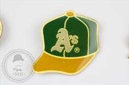 Oakland Athletics Baseball Team Hat - Pin Badge #PLS - Béisbol
