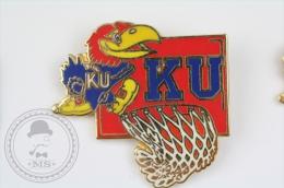 Kansas Jayhawks Basketball Team - Pin Badge #PLS - Baloncesto