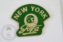 New York Jets American Football Team - Pin Badge #PLS - Fútbol