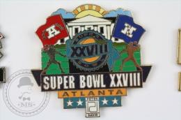 Super Bowl XXVIII Atlanta - Pin Badge #PLS - Fútbol