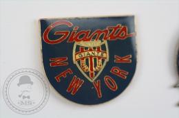 New York Giants American Football Team  - Pin Badge #PLS - Fútbol