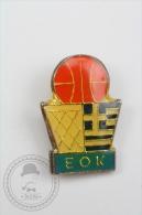 EOK Greece Greek Basketball Association Federation - Pin Badge #PLS - Baloncesto