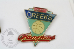 Creeks Champions - Pin Badge #PLS - Baloncesto