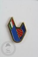 Italian Basketball Federation - Pin Badge #PLS - Baloncesto