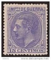 ESNE6-L4072.España Spain Espagne ALFONSO  Xll.1879.(Ed NE 6) MAGNIFICO - Nuevos