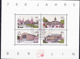 Berlin - 750 Jahre/years/ans Berlin 1987 - Gest. Used Obl. - Berlin (West)
