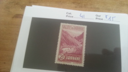 LOT 225661 TIMBRE DE ANDORRE NEUF* N�41 VALEUR 15 EUROS