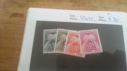 LOT 225668 TIMBRE DE ANDORRE NEUF* N�42 45 VALEUR 70 EUROS