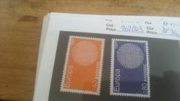 LOT 225681 TIMBRE DE ANDORRE NEUF** N�202/203 VALEUR 34,5 EUROS