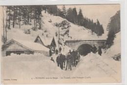 BUSSANG (Vosges) - Le Tunnel, Côté Français - Très Animée - Bussang