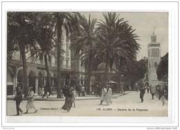Alger Square Régence Cachet Service Travaux Colonisations - Alger