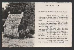 DF / 35 ILLE ET VILAINE / LES IFFS / LA FONTAINE MIRACULEUSE DE SAINT-FIACRE / CIRCULÉE EN 1962 - Francia