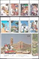 Walt Disney  MiNr. 1071 - 1080 (Block 109) Lesotho  MNH / ** / POSTFRISCH - Disney