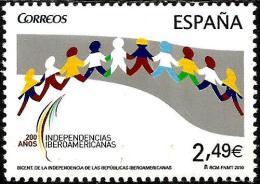 Spain - 2010 - 200 Years Of Latin American States Independence - Mint Stamp - 1931-Hoy: 2ª República - ... Juan Carlos I