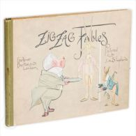ZIG ZAG FABLES 1897 J.A.SHEPHERD - Livres, BD, Revues
