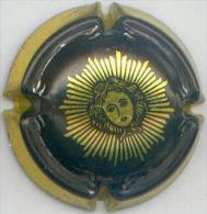 CAPSULE-CHAMPAGNE LAURENT PERRIER Cuvée-grand Siècle N°59 Noir & Or - Laurent-Perrier