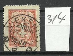 LITAUEN Lithuania 1931 Michel 314 O Good Cancel - Lithuania