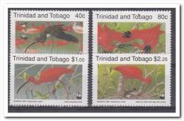 Trinidad & Tobago 1990, Postfris MNh, WWF, Birds - Trinidad En Tobago (1962-...)