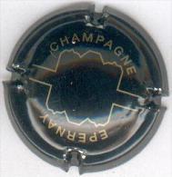 CAPSULE-CHAMPAGNE EPERNAY N°10 Noir & Or - Epernay