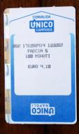 TICKET DELLA LINEA FERROVIARIA CIRCUMVESUVIANA DI NAPOLI - Tickets D'entrée