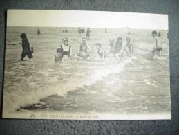 "Cpa  Malo Les Bains ""L'heure Du Bain"" 1923. - Malo Les Bains"