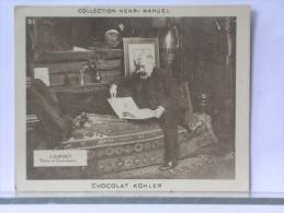 CHOCOLAT KOHLER - COLLECTION HENRI MANUEL - PHOTO (?) - LOURDEY - PEINTRE ET DESSINATEUR - Chocolat