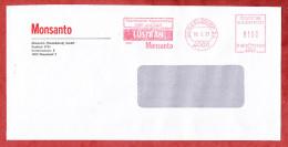 Brief, Monsanto, Francotyp-Postalia B66-7425, Lustran, 100 Pfg, Duesseldorf 1991 (60443) - BRD