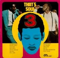 * LP *  THAT'S SOUL 3 - VARIOUS ARTISTS (Germany 1968) - Soul - R&B
