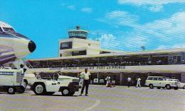 AK AERODROME AIRPORT AEROPORT FRANCOIS DUVALIER PORT -AU-PRINCE HAITE ALTE POSTKARTE - Aérodromes