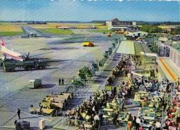 AK AERODROME AIRPORT DÜSSELDORF  ALTE POSTKARTE - Aérodromes