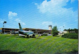 AK AERODROME AIRPORT  LETALISCE LJUBLJANA - BRNIK ALTE POSTKARTE 1983 - Aérodromes