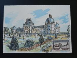 Carte Maximum Maximum Card Chateau De Talleyrand Valencay Indre 1957 - Castles