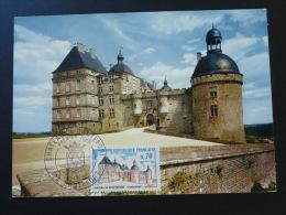 Carte Maximum Maximum Card Chateau Castle Hautefort Dordogne 1969 - Castillos