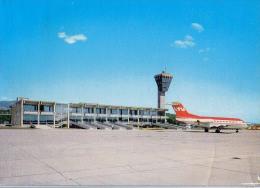 AK AERODROME AIRPORT  FLUGHAFEN OTOK KRK AERODROM RIJEKA  KROATIEN ALTE POSTKARTEN - Aerodrome