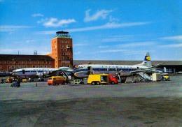 AK AERODROME AIRPORT  FLUGHAFEN MÜNCHEN FLUGHAFEN REIM  ALTE POSTKARTE - Aérodromes