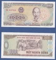 VIETNAM* 1.000 DONG*1988*FDC* UNC* - Vietnam