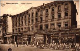 Blankenberge 6 CPA Hotel Godderis Bld Desmet Tram '33 Villas '06  Pension Raoul  Vissersstr '04  Hotel Des Ambassadeurs - Blankenberge