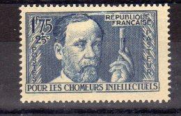"""France (1938)  - """"Louis Pasteur"""" Neuf* - Ongebruikt"""