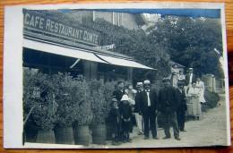 cpa photo Caf� Restaurant COMTE - tel 6.31