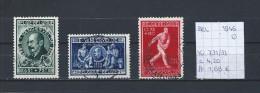 België 1946 - Yv. 731/33 Gest./obl./used - Gebraucht