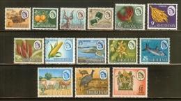 RHODESIA, 1966, Mint  Hinged Stamp(s) Definitives MI Nrs. 24-37, #178 - Rhodesia (1964-1980)