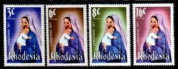 RHODESIA, 1977, Mint Never  Hinged Stamp(s) Christmas, MI Nrs. 200-203, #446 - Rhodesia (1964-1980)