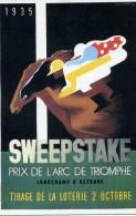 CASSANDRE  /  PRIX DE L'ARC DE TRIOMPHE      ED NOUVELLES IMAGES N° 726  /     CPSM  10 X 15 - Other Illustrators