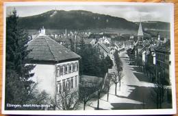 Cpsm ALBSTADT - EBINGEN Adolf Hitler Strasse - Albstadt