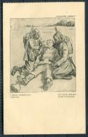 WW2 PROFITTO DEI FERITI D'ITALIA Italy Patriotic Postcard -  Les Bons Samaritains D'Afrique - Patriotic