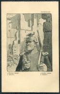 WW2 PROFITTO DEI FERITI D'ITALIA Italy Patriotic Postcard - Satisfaction - Patriotic