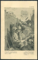 WW2 PROFITTO DEI FERITI D'ITALIA Italy Patriotic Postcard - La Lettre - Patriotic
