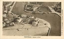 Réf : M-14-3753 :  Trouville Vue Aérienne Du Casino - Trouville
