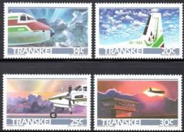 Transkei - 1987 10th Anniv Of Transkei Airways Set (**) # SG 197-200 - Transkei